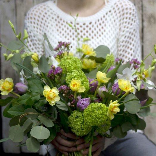 Весенние ручейки: букеты цветов на заказ Flowwow