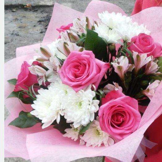 Букет Пинк: букеты цветов на заказ Flowwow