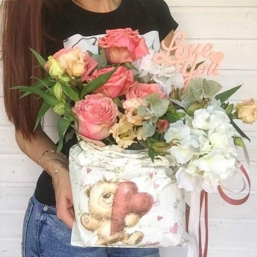 Мешочек счастья: букеты цветов на заказ Flowwow