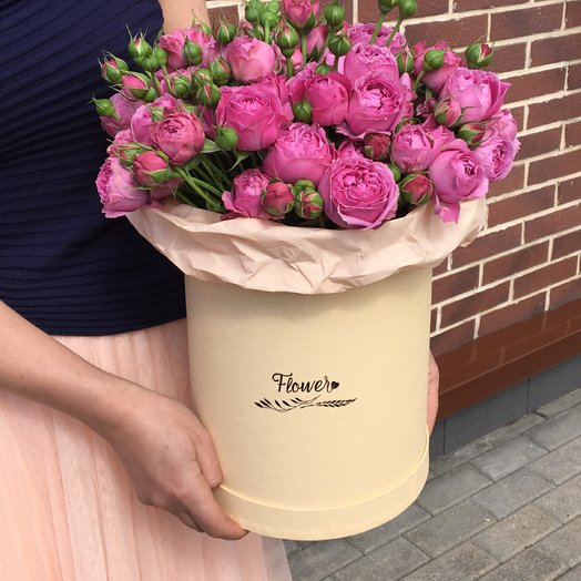 Мисти Баблс в коробкет: букеты цветов на заказ Flowwow
