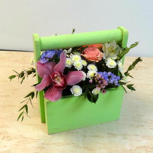 Ящик 4: букеты цветов на заказ Flowwow