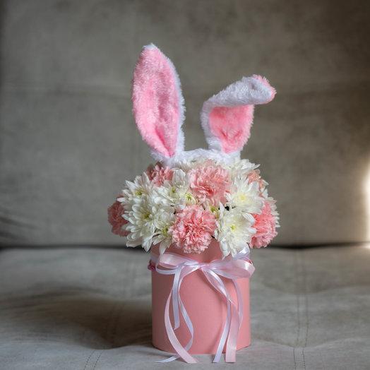 «Моей зайке» : букеты цветов на заказ Flowwow