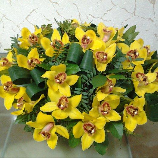 Тропическая жара : букеты цветов на заказ Flowwow