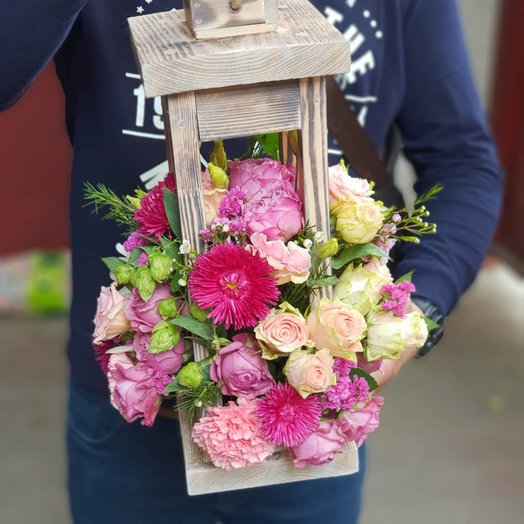 Цветочный подсвечник: букеты цветов на заказ Flowwow