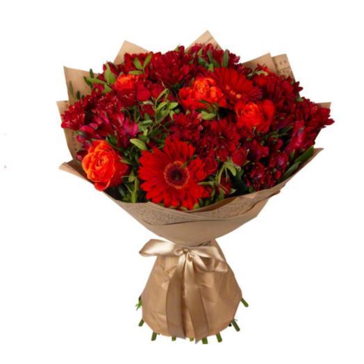 Пламя любви: букеты цветов на заказ Flowwow