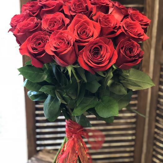 Букет из 11 красных роз: букеты цветов на заказ Flowwow