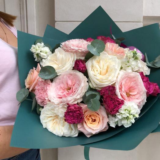 Букет Lamour: букеты цветов на заказ Flowwow