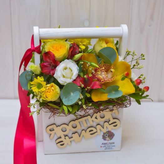 Композиция на День Матери: букеты цветов на заказ Flowwow