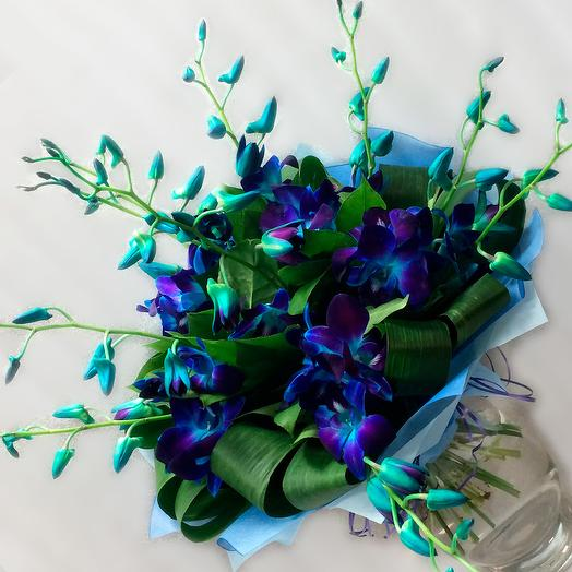 Color mood blue: flowers to order Flowwow