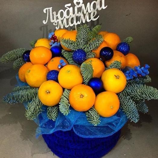 """""""Новогоднее настроение """": букеты цветов на заказ Flowwow"""
