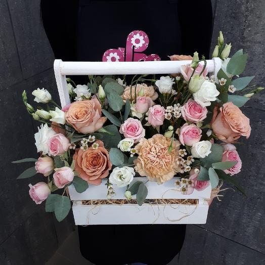 Сладкое Латте: букеты цветов на заказ Flowwow