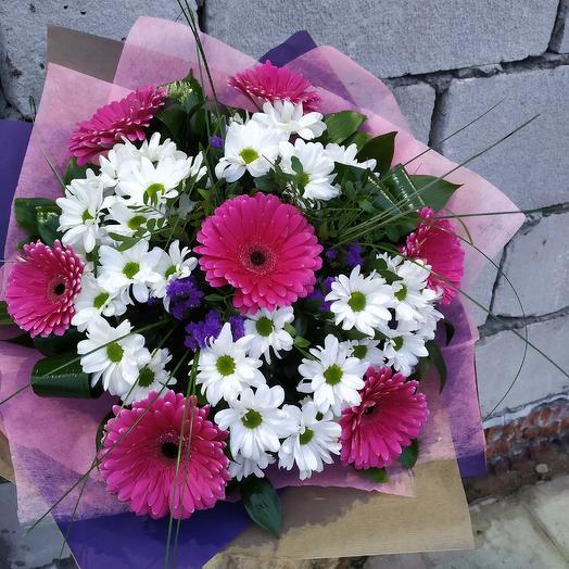 """Букет """"Яркая полянка"""": букеты цветов на заказ Flowwow"""