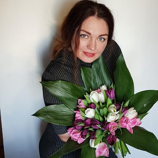 Французская роскошь: букеты цветов на заказ Flowwow