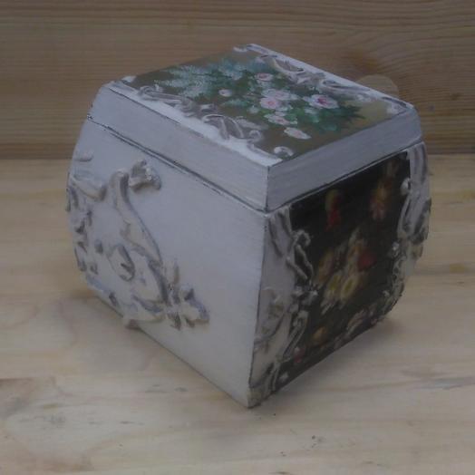 Декоративная шкатулка: букеты цветов на заказ Flowwow