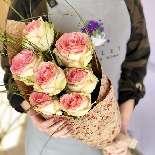 Букет Эсперанса: букеты цветов на заказ Flowwow