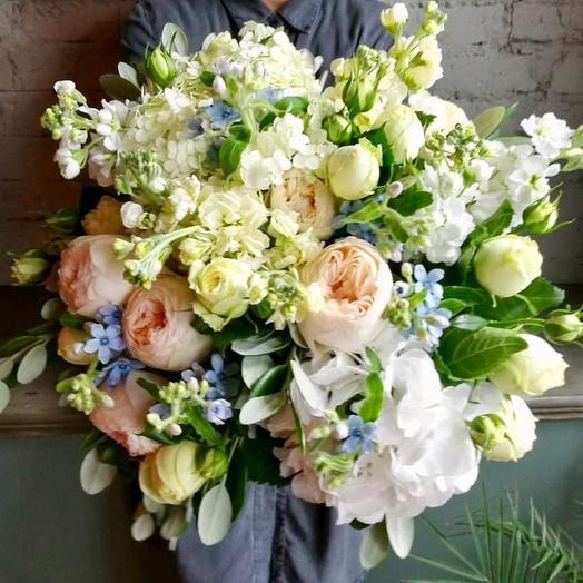 Джульетта и Гортензия: букеты цветов на заказ Flowwow