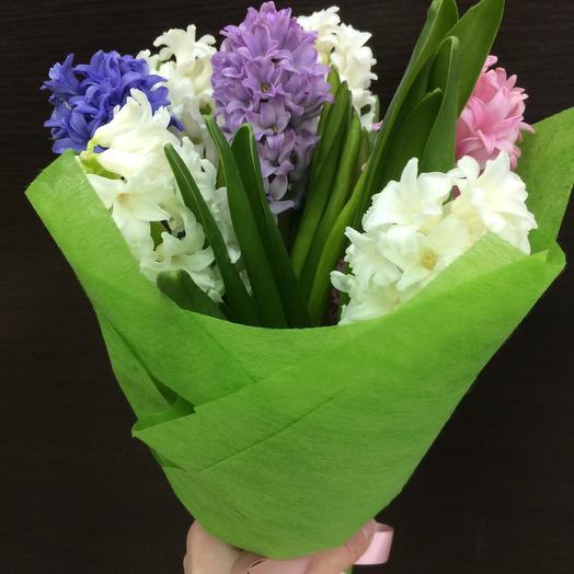 Гиацинт 💐😌: букеты цветов на заказ Flowwow