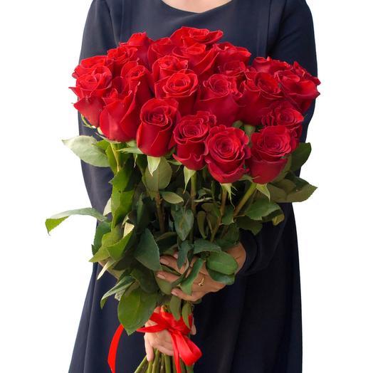 19 luxury Ecuadorian roses 60cm