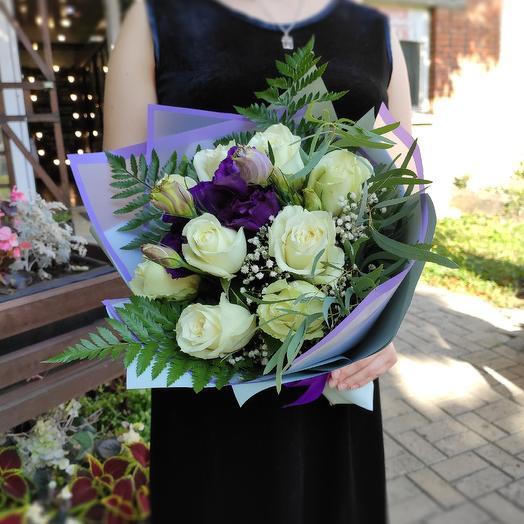 Весна в белом: букеты цветов на заказ Flowwow