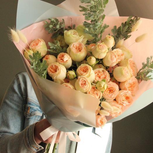 Нежное пралине: букеты цветов на заказ Flowwow