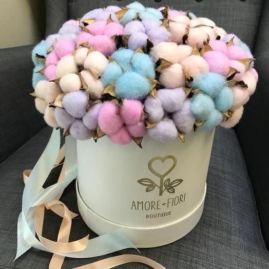 Шляпная коробка 25: букеты цветов на заказ Flowwow