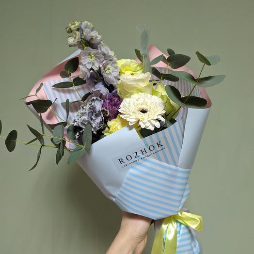 Нежный рассвет: букеты цветов на заказ Flowwow