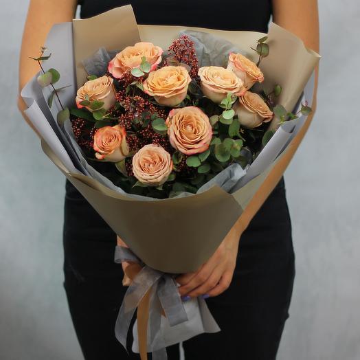 Свет вечерней зари: букеты цветов на заказ Flowwow