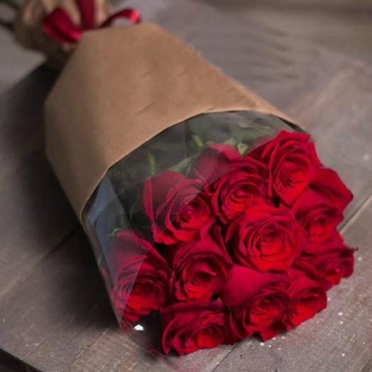 Красные розы 6