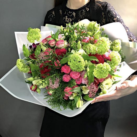 Букет «Весенний ветер»: букеты цветов на заказ Flowwow