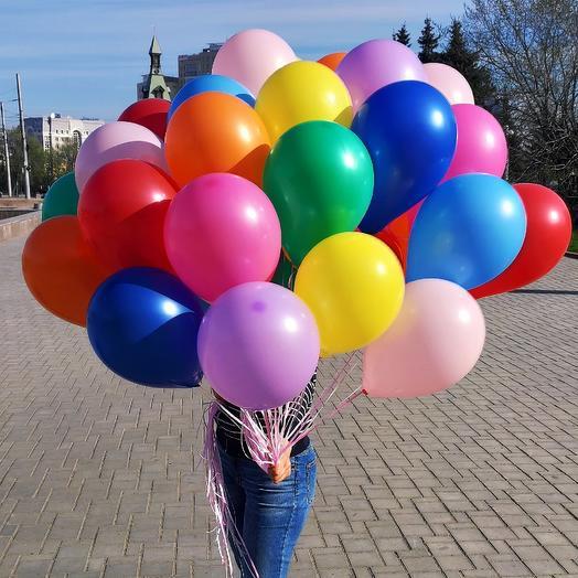 33 helium balloon mix
