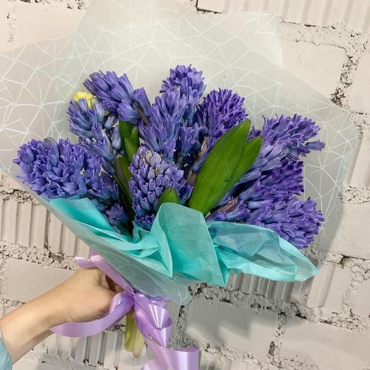 Гиацинты 11: букеты цветов на заказ Flowwow