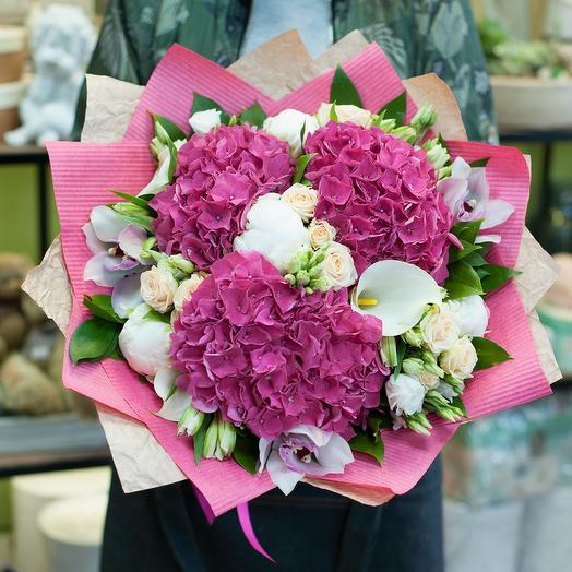 """Букет цветов """"Pink Jazz"""""""