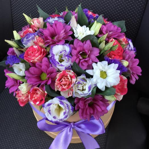 Цветы в коробке 47