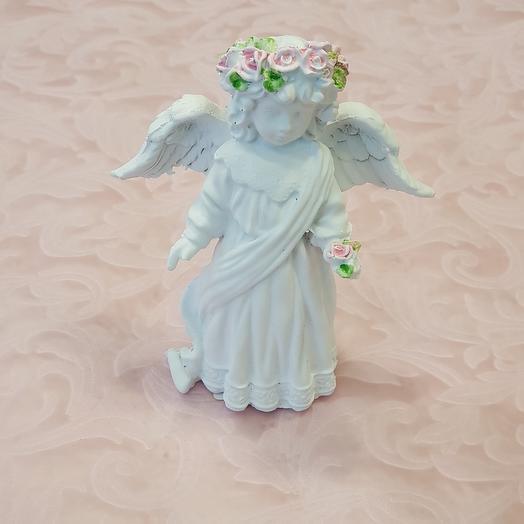 Ангел в веточке из роз Арт76