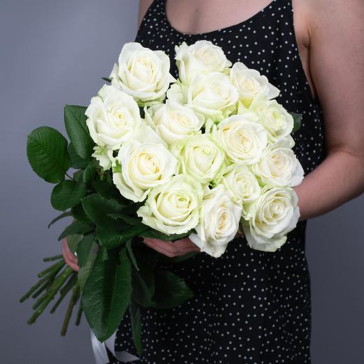 Букет из 15 роз «Avalanche»