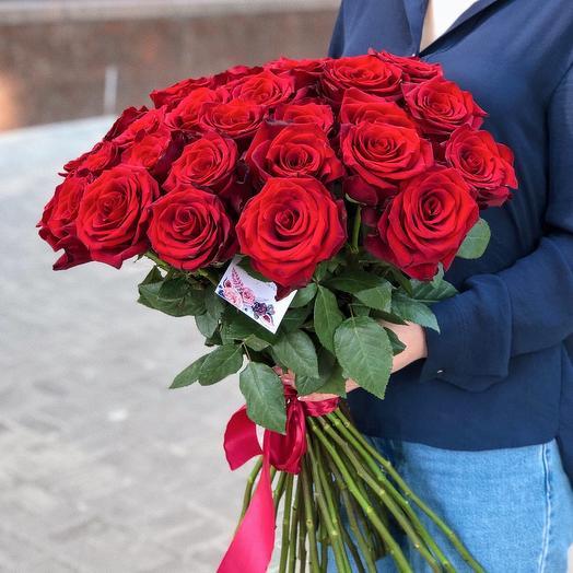 Букет  с классическими розами