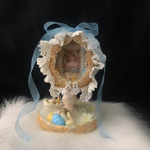 Пасхальная подставка под яйца