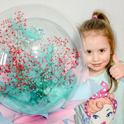 Цветок в шарике