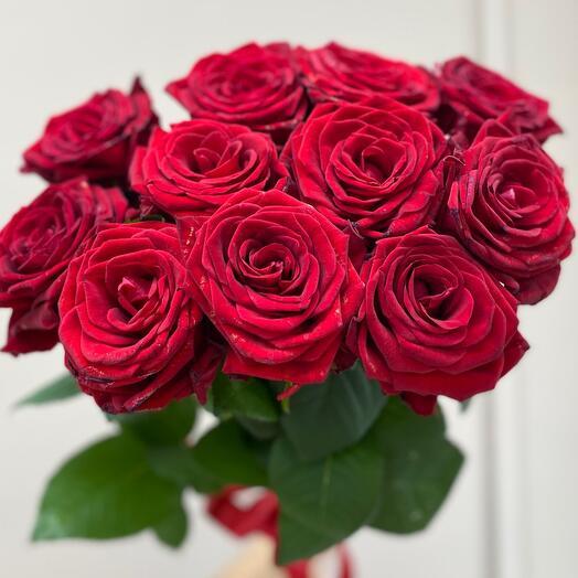 Алые Розы  11 шт