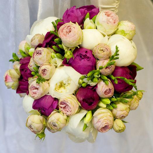 Букет невесты Паола