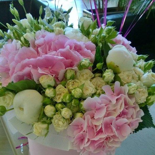Композиция Нежное облако: букеты цветов на заказ Flowwow