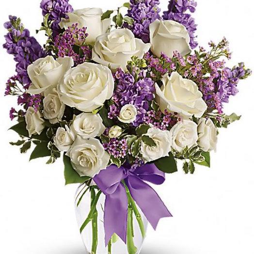 Букет «Остановись мгновенье»: букеты цветов на заказ Flowwow