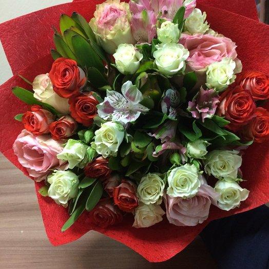 Краски зимы: букеты цветов на заказ Flowwow