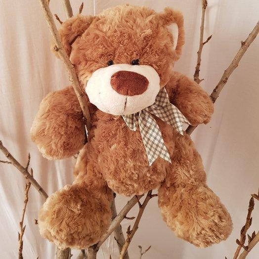 Медведь плюшевый от Floristic World: букеты цветов на заказ Flowwow