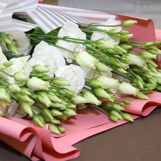Букет из Белых Эустом: букеты цветов на заказ Flowwow