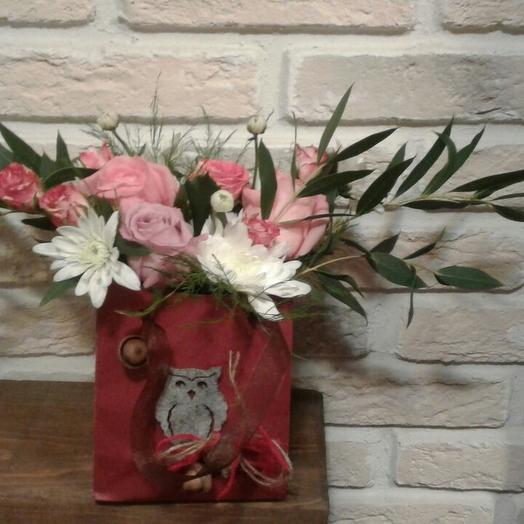 Милый хаос: букеты цветов на заказ Flowwow