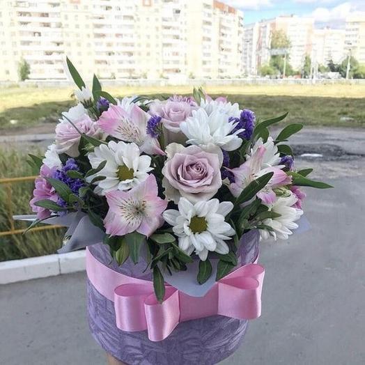 Ясный бархат: букеты цветов на заказ Flowwow