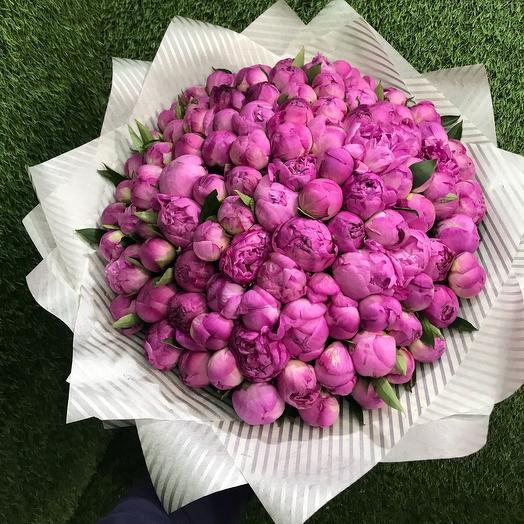 Малиновая чудо: букеты цветов на заказ Flowwow