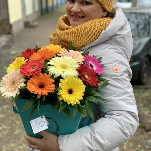 Яркие герберы: букеты цветов на заказ Flowwow
