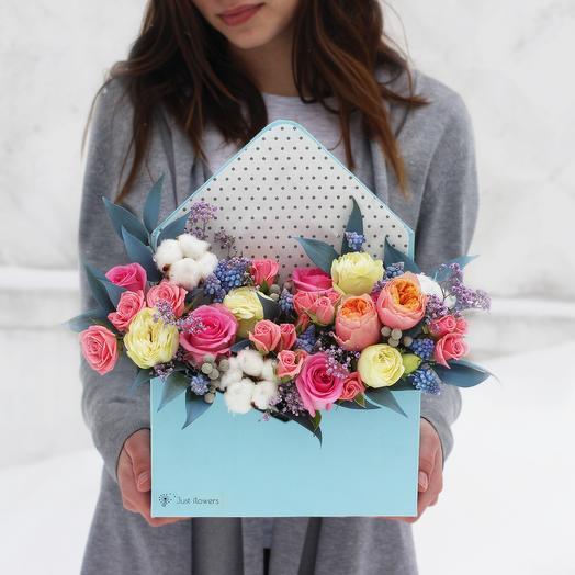 Бокс 05: букеты цветов на заказ Flowwow